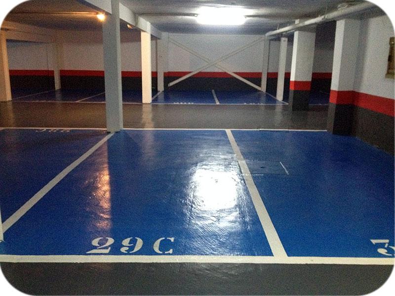 Pavimento para aparcamientos y garajes