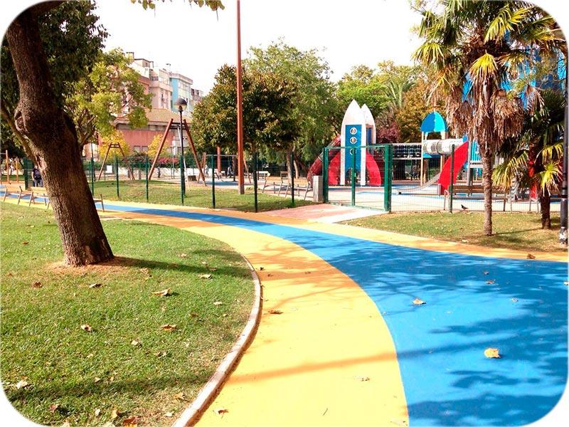 pavimentos para viales y parques