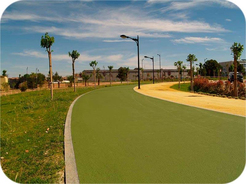 pavimento liso para viales y parques