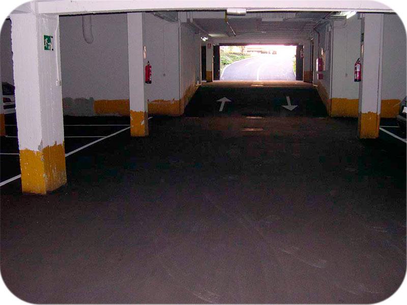 Instalacion pavimetos garajes